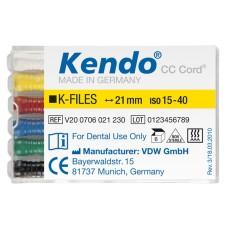 К-файлы Кендо 6шт./уп, VDW