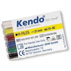 H-файлы Кендо 6шт./уп, VDW