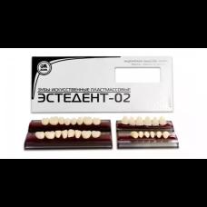 Гарнитур зубов Эстедент на планках 28шт., Стома